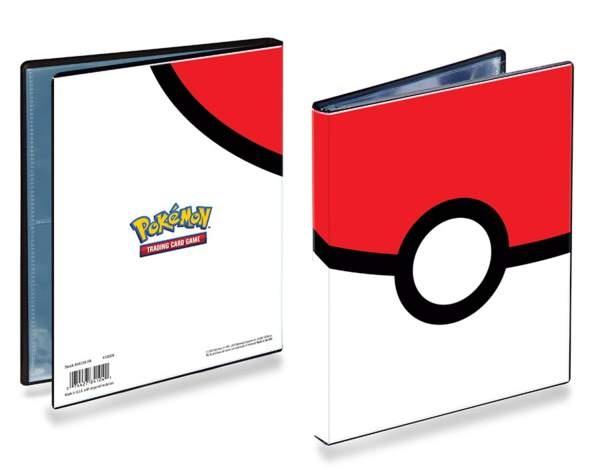 Ultra PRO Pokemon Sammelalbum Pokeball 4-Pocket Portfolio